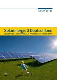 Solarenergie 3 Deutschland