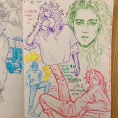 Kunstjournal Inspiration, Sketchbook Inspiration, Art Inspiration Drawing, Pretty Art, Cute Art, Art Diary, Arte Sketchbook, Hippie Art, Art Drawings Sketches