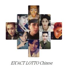 EXO LOTTO Photo Card