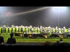 http://youtu.be/_KtLXFGnYEs Madison Scouts Empire State of Mind 2011.  Drum Corps International.