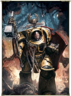 """ - Momentous Personalities of the WARHAMMER 40000 Universe - "" First Captain Darnath Lysander of the Imperial Fists Chapter Darnath Lysander is the First Captain of the Imperial Fists Chapter's Warhammer 40k Art, Warhammer 40k Miniatures, Warhammer Fantasy, Character Art, Character Design, Character Concept, Character Inspiration, Saga, Minis"
