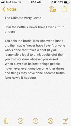 Just a party game idea I had dunno what to call it. Its spin the bottle ne - - Just a party game idea I had dunno what to call it. Its spin the bottle ne Party Just a party game idea I had dunno what to call it. Its spin the bottle ne