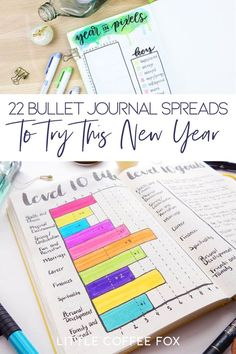 If you are anything like me, your bullet journal is your companion. It helps you get through the day and prepare for tomorrow. You can log your present and save it for the past. And above all, it helps you collect your brain and keep you together. But experimentation is key to unlocking the bullet journal's fullest potential. So here are 22 bullet journal spreads that everyone should try at least once to become a productivity whiz. #bulletjournal #bulletjournalspreads #bujo…