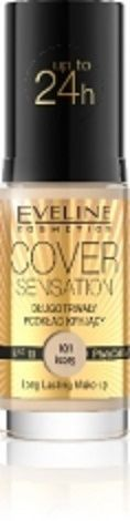 Eveline Cover Sensation - nowe podkłady do twarzy, długotrwałe, mocne, zapewniające efekt doskonałego krycia, jednak bez efektu maski. Wspaniale, gęsta i kremowa konsystencja idealnie dopasowuje się do skóry i daje efekt kaszmirowego wykończenia makijażu - https://www.perfectfresh.com/?producent=Eveline&seria=Cover+Sensation&ex=pa