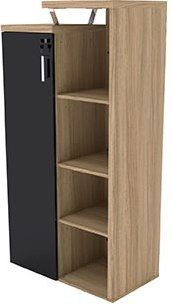 Armário alto c/ estante 3 prateleiras Shelving, Lockers, Locker Storage, Cabinet, Furniture, Home Decor, Upper Cabinets, Steel Furniture, Shelves