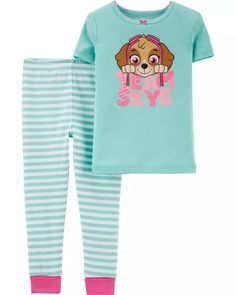 Snug Fit PAW Patrol Cotton PJs | carters.com