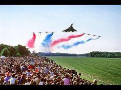 Concorde & The Patrouille de France
