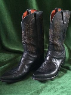 Lucchese Handcrafted 1883 Mad Dog Goat Cowboy Boots -Lightly used #Lucchese1883ElPasoTexas #CowboyWestern