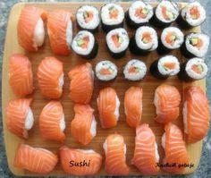 Sushi Sushi, Gluten, Ethnic Recipes, Food, Meals, Yemek, Eten