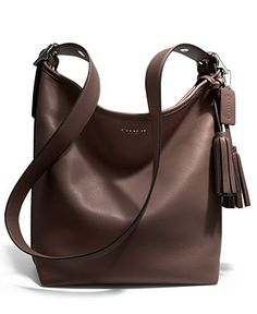 COACH LEGACY LEATHER DUFFLE - COACH - Handbags & Accessories - Macy's