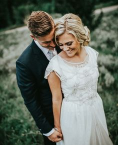modest wedding dress with flutter sleeves from alta moda. --- (modest bridal gown) --