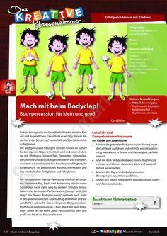 Mach mit beim Bodyclap! - Bodypercussion für klein und groß