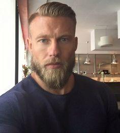 Beard Styles For Men, Hair And Beard Styles, Long Hair Styles, Great Beards, Awesome Beards, Mens Hairstyles With Beard, Haircuts For Men, Hairy Men, Bearded Men