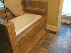 Bathroom Remodeling Charlotte Travertine Tile