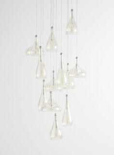 Carrara 12 Light Ceiling Pendant Light - BHS