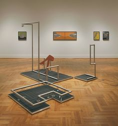 Artist:  Ian Monroe  Installation view of 'Currents 105', Saint Louis Art Museum. I just love his work.