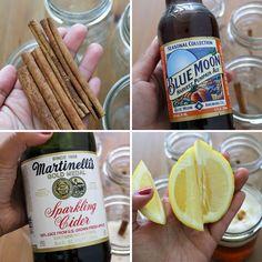 Sparkling Pumpkin Cider Beertail
