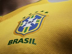 Nike Soccer 2012 Brazil National Team Jersey: The Brazilian National Team get a new update to their iconic kit with inspirations taken from Soccer Fans, Nike Soccer, Football Jerseys, Football Soccer, Team Wallpaper, Football Wallpaper, Samba, Neymar, Messi