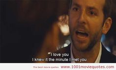 Silver Linings Playbook (2012) - love quote