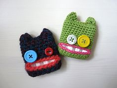 Ravelry: Tampon Monsters pattern by Lydia Busek