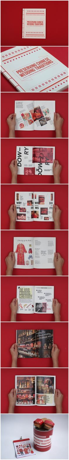 Preserving Chinese Wedding Traditions  via http://www.behance.net/gallery/Preserving-Chinese-Wedding-Traditions/9177269