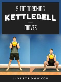 The average person burns 400 calories in a 20-minute kettlebell workout.