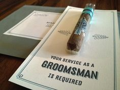 Will you be my… Groomsmen? on http://itsabrideslife.com