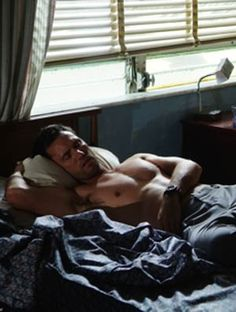 Jeffrey Donovan (aka Michael Weston of Burn Notice). Not sure where this picture is from, but I approve!