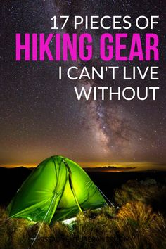 Of all the gear I've owned over the years here the 17 things that have impressed me the most! Covers clothing boots backpacks books and gadgets plus shopping tips for my favorite outdoor retailers. Hiking Gear for Women Outdoor Survival, Survival Gear, Outdoor Gear, Survival Prepping, Outdoor Gadgets, Survival Backpack, Survival Life, Homestead Survival, Emergency Preparedness