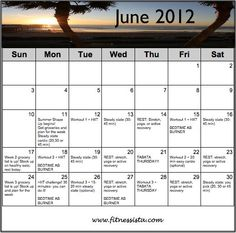 fitnessista.com, summer shape up!