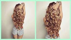 Cómo hacer Ondas o rizos sin calor! Sin Dañar tu cabello! Heatless Curls CINDYLIMON - YouTube