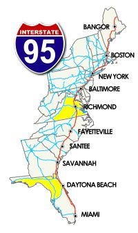 road trip and stop along the way great overnight stops i 95 exit guide