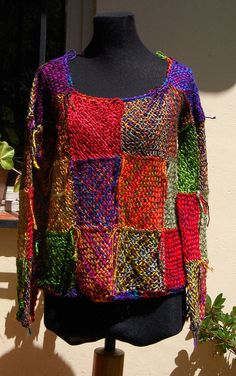 Sweter Patchwork | Flickr - Photo Sharing!