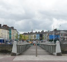Shandon Pedestrian Bridge Connecting Popes Quay to Cornmarket Street County Cork Ireland, Galway Ireland, Ireland Vacation, Ireland Travel, Ireland Pictures, World Cruise, Cork City, Cruise Destinations, Pedestrian Bridge