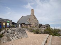 Restaurant on top of the Table Mountain
