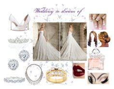 """""""Wedding to dream of"""" by abby-fronczek ❤ liked on Polyvore"""