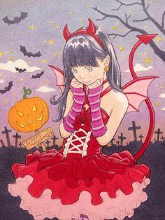 完成! Happy Halloween!!