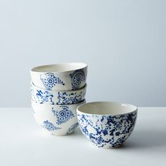 Ice Cream Bowls (Set of d'Art et Manufacture chez Eating Ice Cream, Ice Cream Bowl, Coconut Ice Cream, Chewy Chocolate Chip Cookies, Desserts To Make, Vegan Dessert Recipes, Thanksgiving Desserts, Food 52, Ceramic Bowls