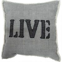 The Live Toss Cushion from Urban Barn Contemporary Furniture Stores, Urban Barn, My Room, Decorative Throw Pillows, Accent Decor, Living Room Decor, Family Room, Cushions, Live