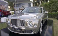 World Luxury Expo - Dubai 2013 Bentley Mulsanne, Gold Pen, Palm Beach, Dubai, 18k Gold, Luxury, World, The World