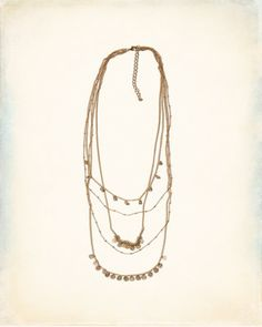 layered necklace surfer - Google Search