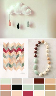 neutral pastel