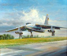 Baade Typ152, zweiter Prototyp V-4,  www.flugzeugkunst.eu