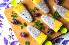Dietetyczne lody kokosowe z mango Mango, Cheese, Eat, Food, Manga, Essen, Meals, Yemek, Eten