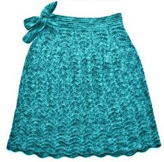 Ravelry: Seaside Story Skirt pattern by Elena Fedotova, crochet, alpaca and silk