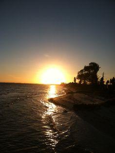 Sunset at Anna Maria, Florida