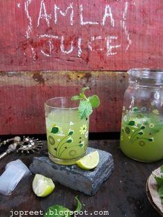 Amla Juice / Nellikai (Gooseberry) Juice