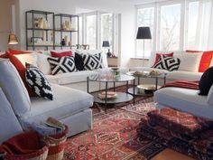 Salon avec tapis