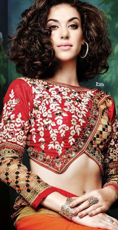 ♔LAYA♔SAREE BLOUSE♔