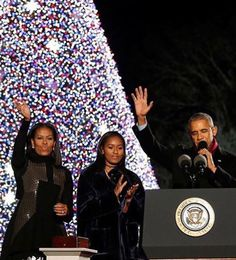 Final holidays with the best first family ever.